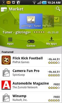 Android Market Renovated